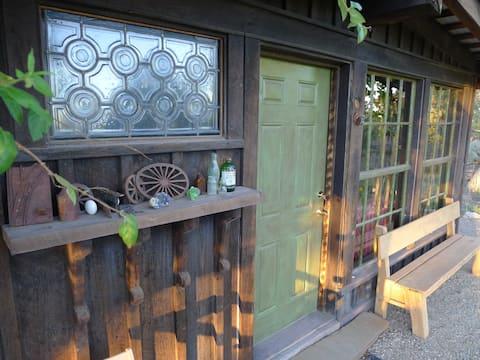 Mesa Verde Farm Straw Bale Adobe Canyon Cabin