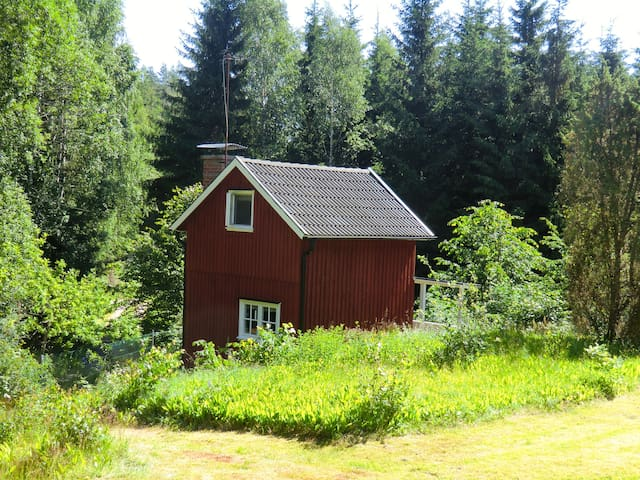 Small cabin on lake in Värmland - Årjäng Municipality