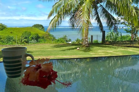Tahiti Iti - With a view on the lagoon - Toahotu  - Huis