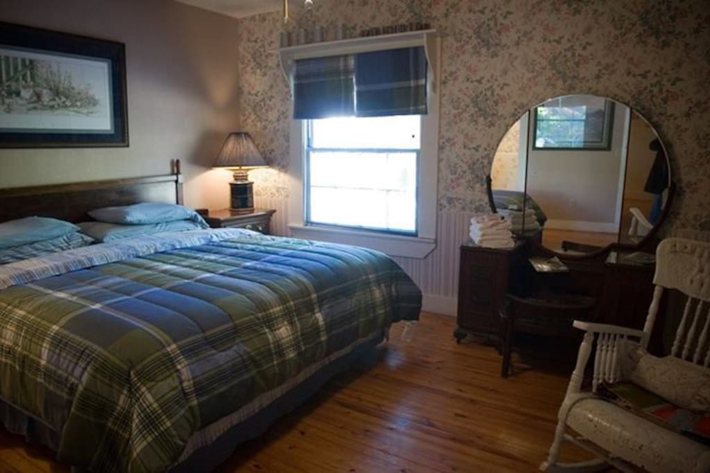 Family Suite with king, Queen, and twin beds.  2- adjoining rooms.