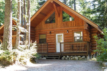 Beautiful log cabin in the woods - Hope - Cabane