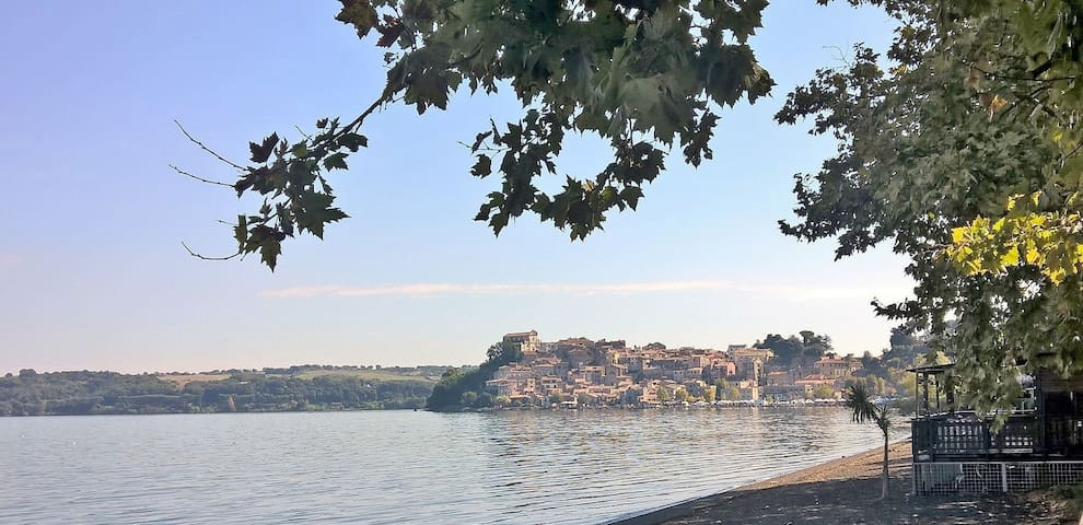 Lovely flat, close Bracciano lake - Anguillara Sabazia - Apartamento