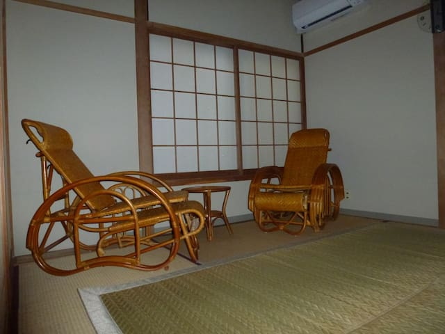 Room in guesthouse  in onsen resort  1.3