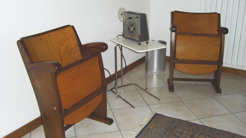 "suite ""cinema"" anni 60"
