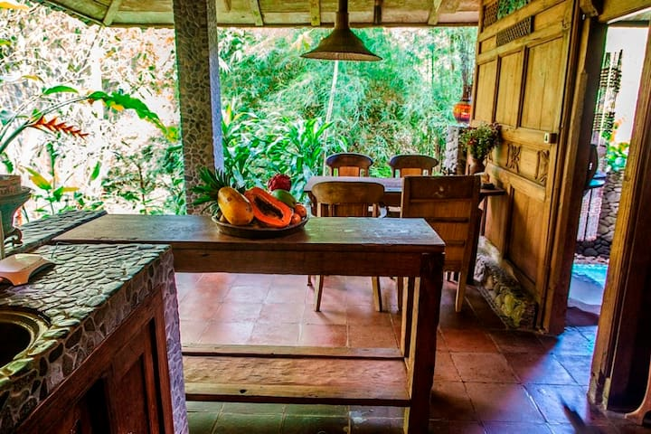 Bali Dacha - Natural Wooden House - Ubud - House