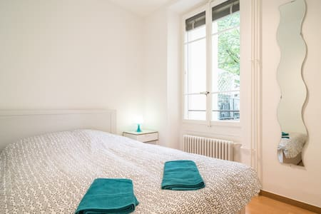 Bright 2 Bedroom Flat in the Center - Genève