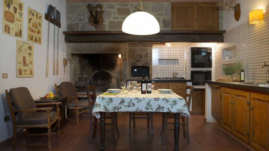 Holiday in an antique farm,Giardino - Roccastrada - Apartment