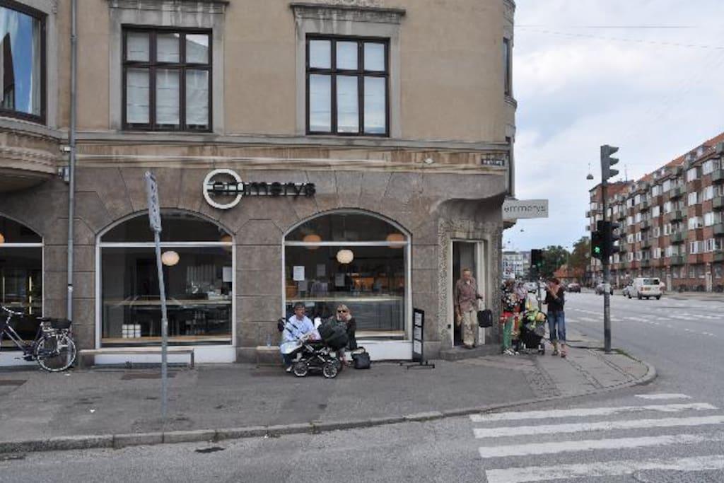 Great sunny studio apartment in copenhagen wohnungen for Kopenhagen unterkunft
