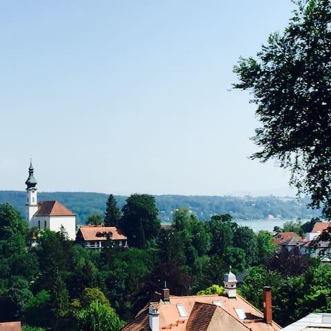 Modern Villa - fantastic view - Starnberg - Hus