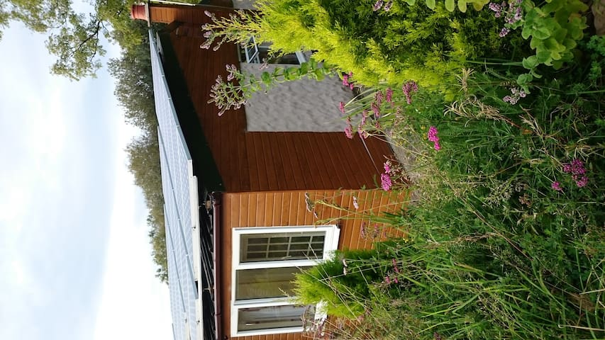 Cosy cabin for two, log fire. - Kilgetty/Narberth - Cabin