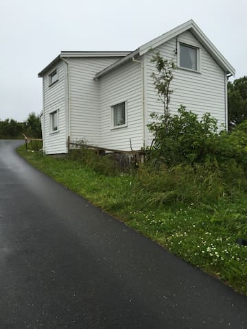 Her er vårt lille søte hus sett fra Skippergata