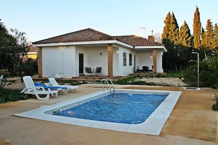 Vistas, piscina, BBQ, Wifi,chimenea - Niebla - Bungalo