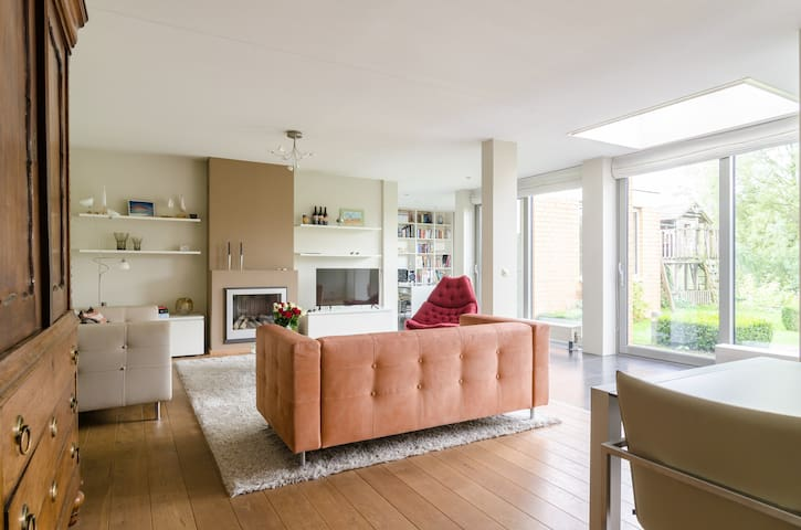 Nice spacious house near Amsterdam - Wageningen - บ้าน