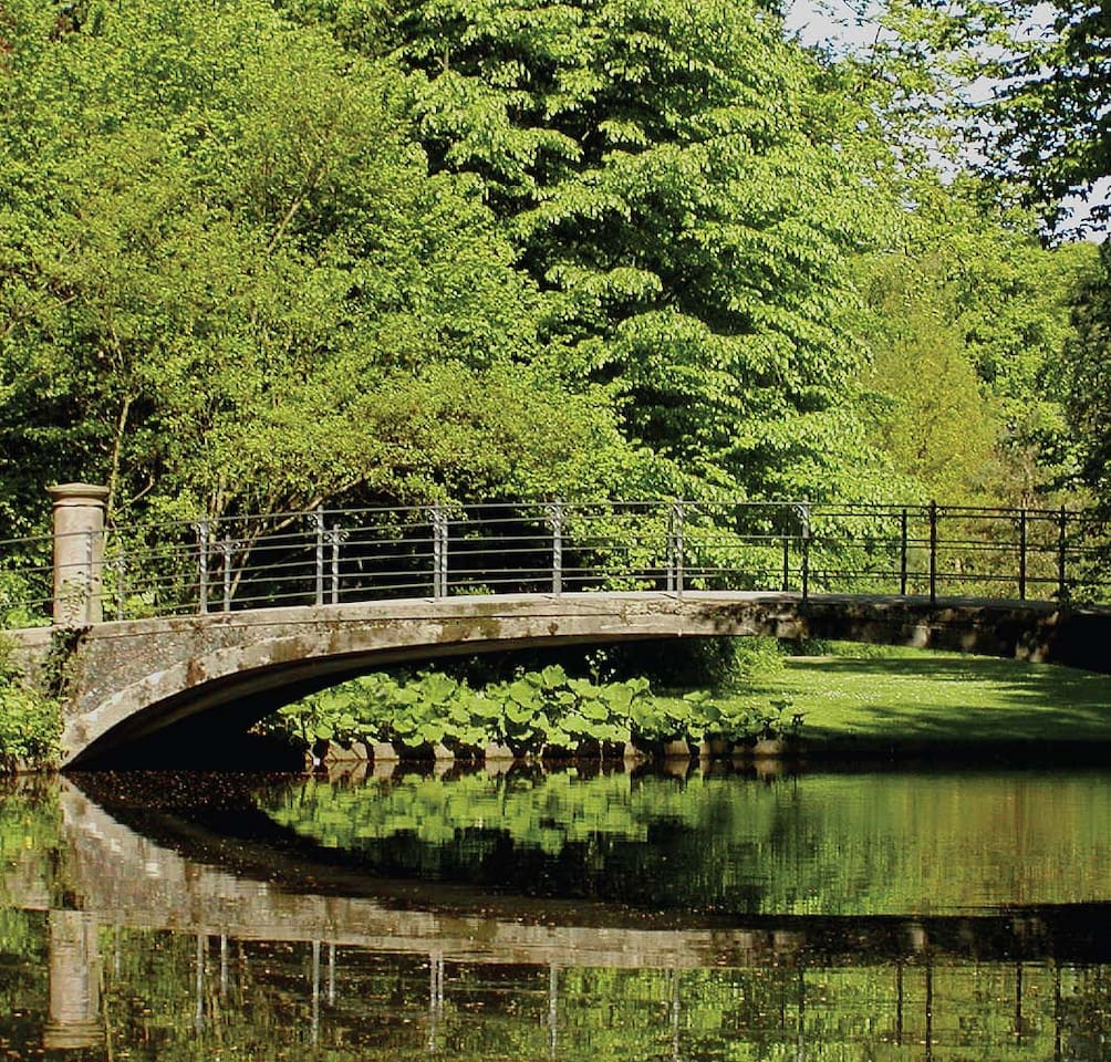 Beautiful Frederiksberg garden