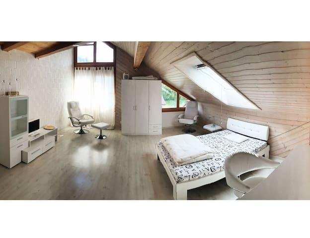 Loft in Doppeleinfamilienhaus - Seftigen