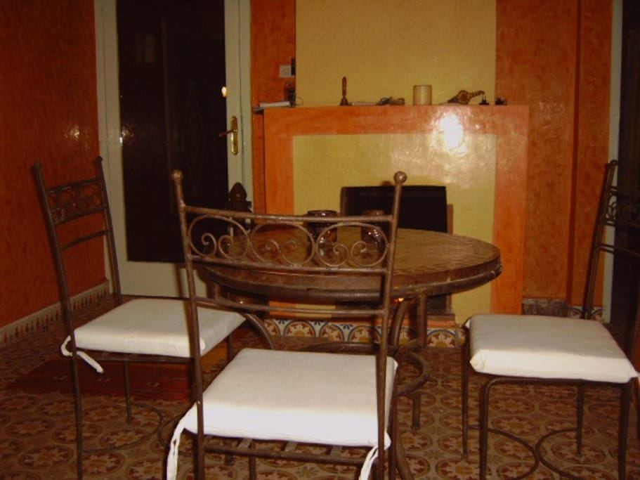 Table Riad Dar Fatna