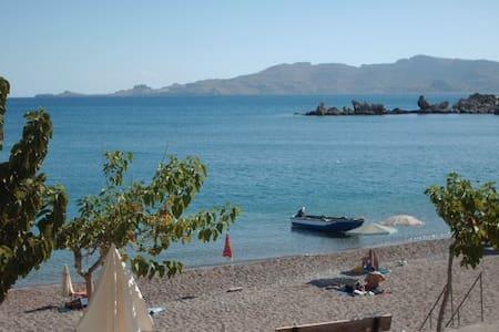 Charming apartment ON the beach! - Rodos