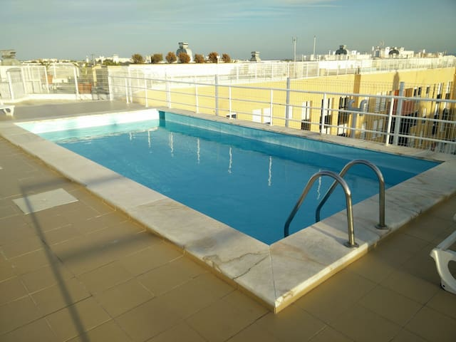 Lisbon flat: swimming pool+garage - Lisboa - Apartment