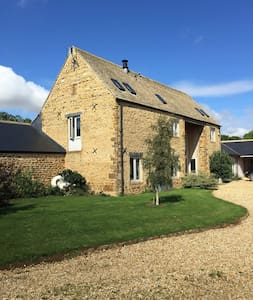 Stone barn conversation, sleeps 8 - Hook Norton