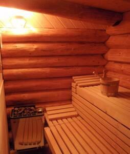 Sauna für Zwei mit Whirlpool - Neuwilen