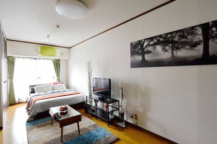 Close to Namba, Cozy Room For 4ppl - Ōsaka-shi - Flat