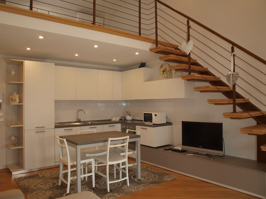 Dining Room -  stairs to loft