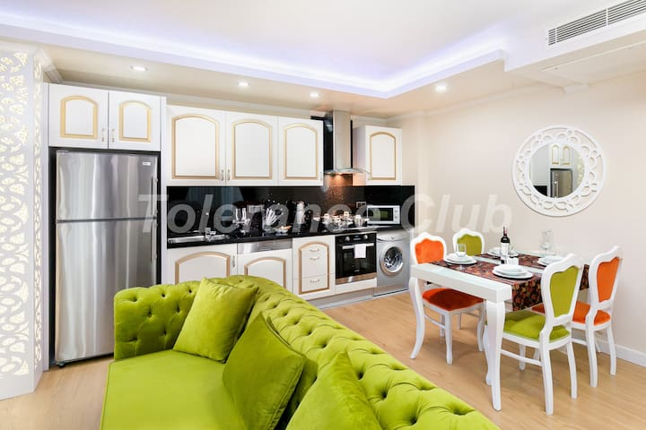 LUXURY RESİDENCE 1+1 APARTMENT 1B/2