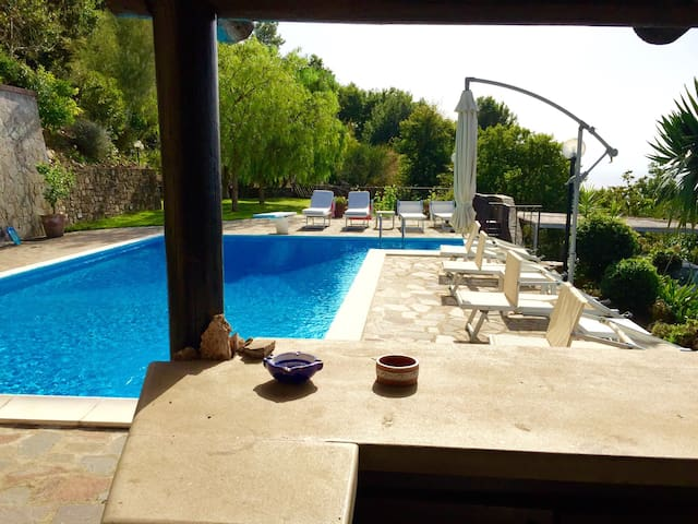 Heavenly Villa with Pool & Sea View - San Marco di Castellabate - Villa
