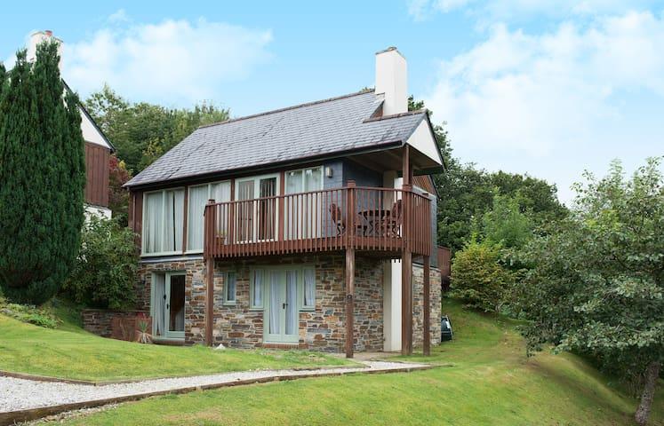 Three bedroom detached lodge - No 5 - Saint Mellion - Huis