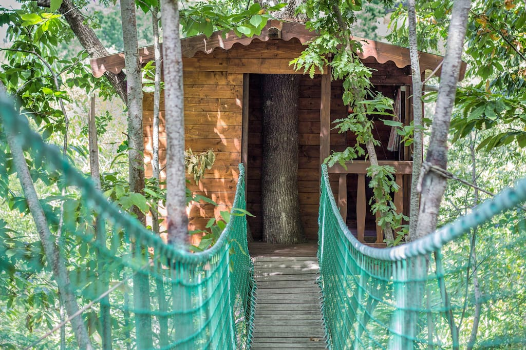 Casa sull 39 albero nel bosco treehouses for rent in - Airbnb casa sull albero ...