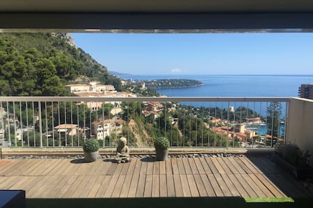 Large apartment Monaco and sea view - Beausoleil