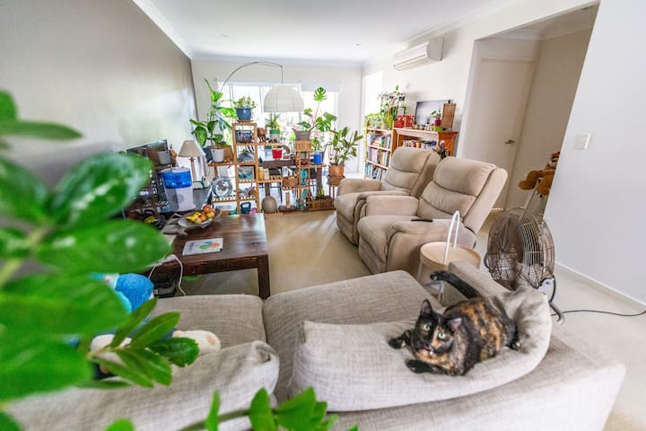 Tidy & comfortable home, in well connected  area