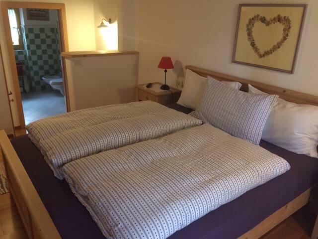 Romantic Junior Suite at Maso Vaia - Masi - Bed & Breakfast