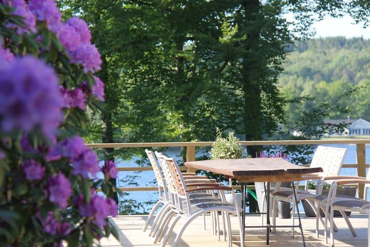 Hus med sjötomt och brygga - Örkelljunga - Σπίτι