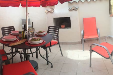 301 Centre ville with sunny terrace - Narbonne - Apartment