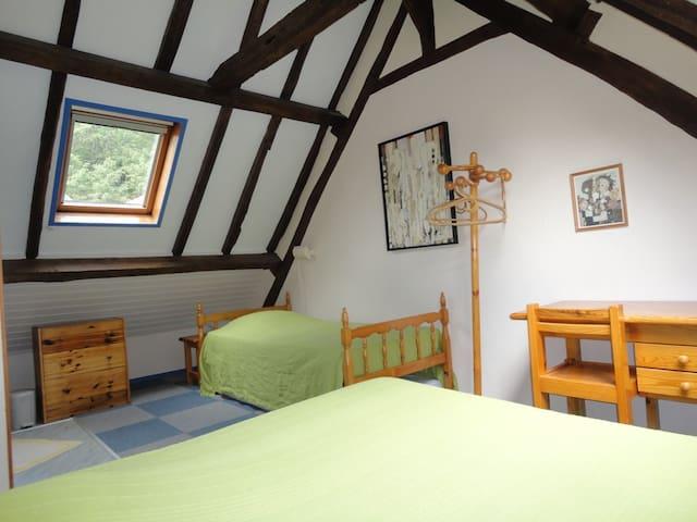 Chambres d'Hôte Kami Ferme Wolphus - Zouafques - Bed & Breakfast