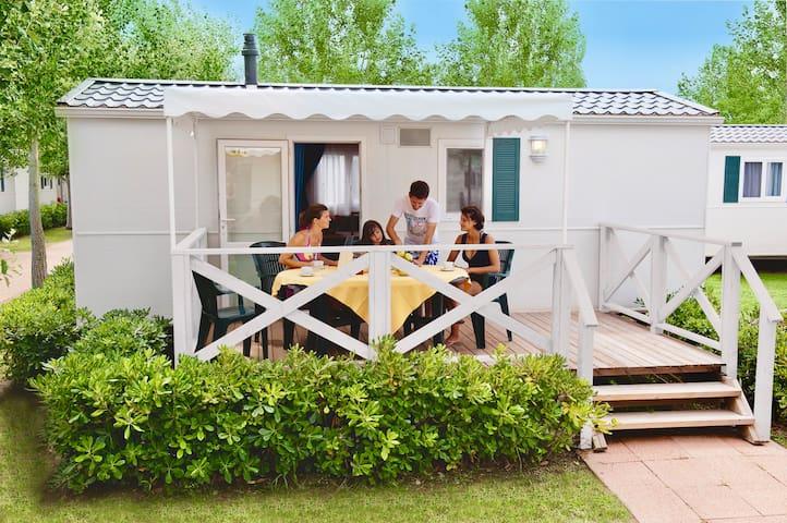 Casa Mobile nel cuore del Parco del Delta del Po