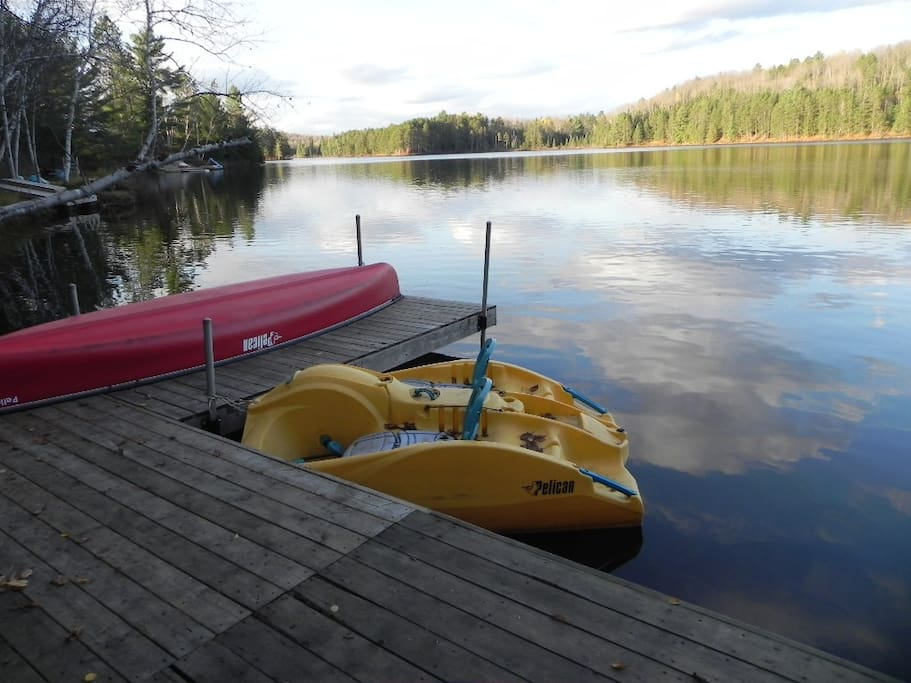 Gorgeous Private Lake is Mostly Crown Land, with No Cottages on Opposite Side of Lake