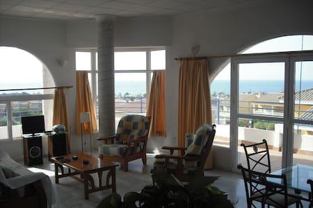 Luminous apartment amazing sea view - Pis