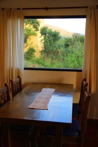 COMPLEJO EL ARCANO  Cabaña Aire - Capilla del Monte - Blockhütte