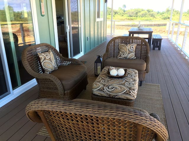 Expansive decks to relax, listen to the ocean, and enjoy the views