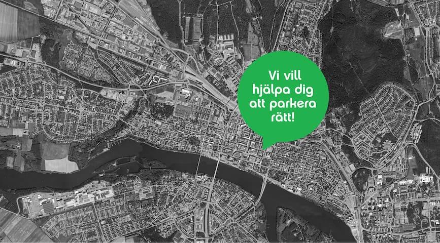 Charmig lägenhet i centrala Umeå - Umeå - Departamento