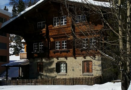Luxury Chalet next to slope - Saint Moritz