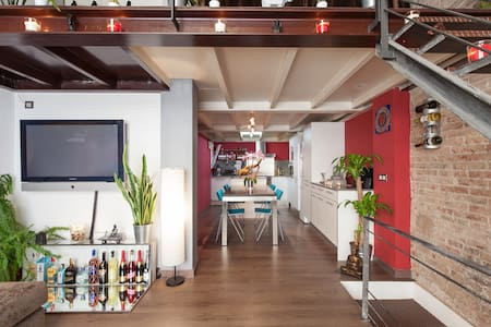 New York style loft in Gracia!!! - Barcelona - Loft