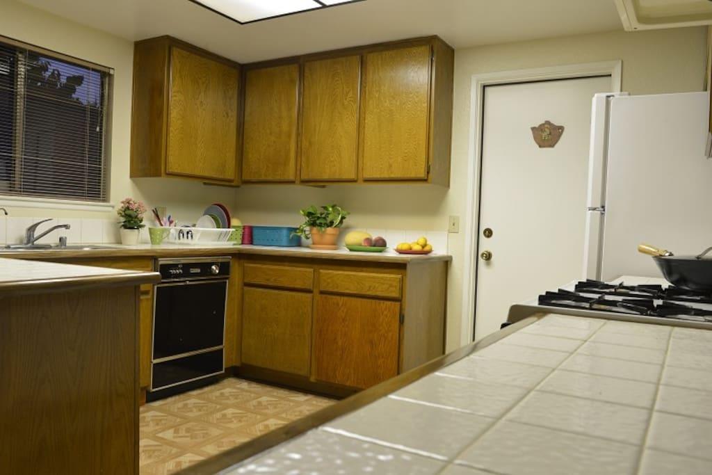 永远干净的整齐的厨房,每天好心情