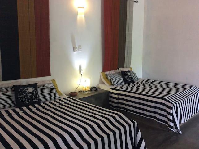 Elegant style of bedrooms.