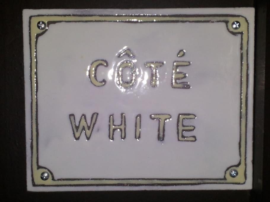 """""""Côté White"""""""