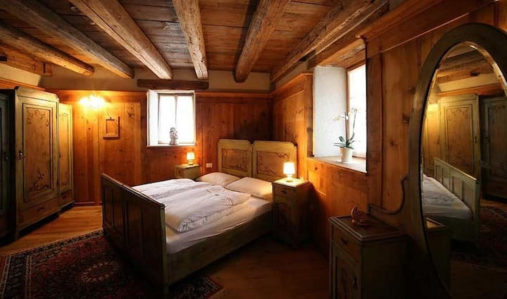 "Double Room ""Wood"" in Val di Fiemme"