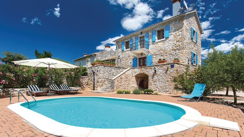 Beautiful Villa Margaret on Krk - Garica - Casa de camp