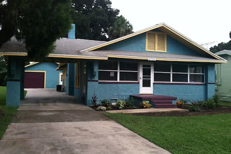 1928 Waterfront Bungalow - New Port Richey - Bungalow